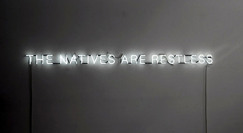 nevver:  The Natives are Restless