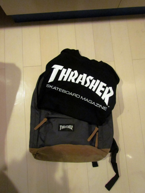 hypn0tic-soul:  the thrashers bag selling it for 45