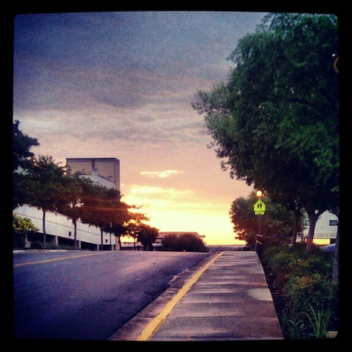 Helloooooo San Marcos sunrise!!! :) #Beautiful (Taken with instagram)