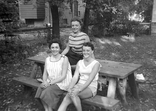 Three Sisters Michigan c. 1946 Photographs from the collection of  Harry Snowden