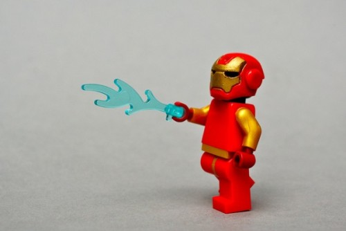 LEGO Superheroes by Andrew Becraft.