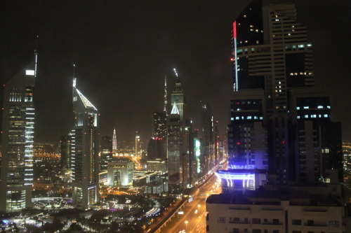 paulbrady:  View of Dubai from the hotel. It's just 40 minutes to Wednesday.
