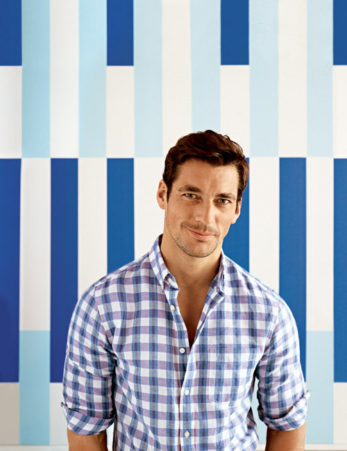 fash-fever:  David Gandy - Banana Republic Summer 2012 campaign