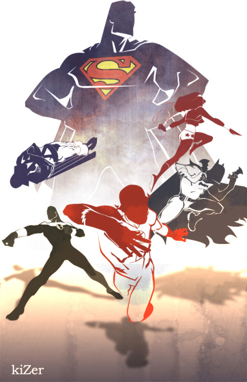 colbyhbryant:  Justice League by Kizer.