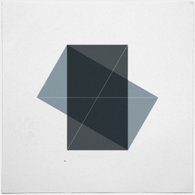 geometrydaily:  #131 Conversation – A new minimal geometric composition each day
