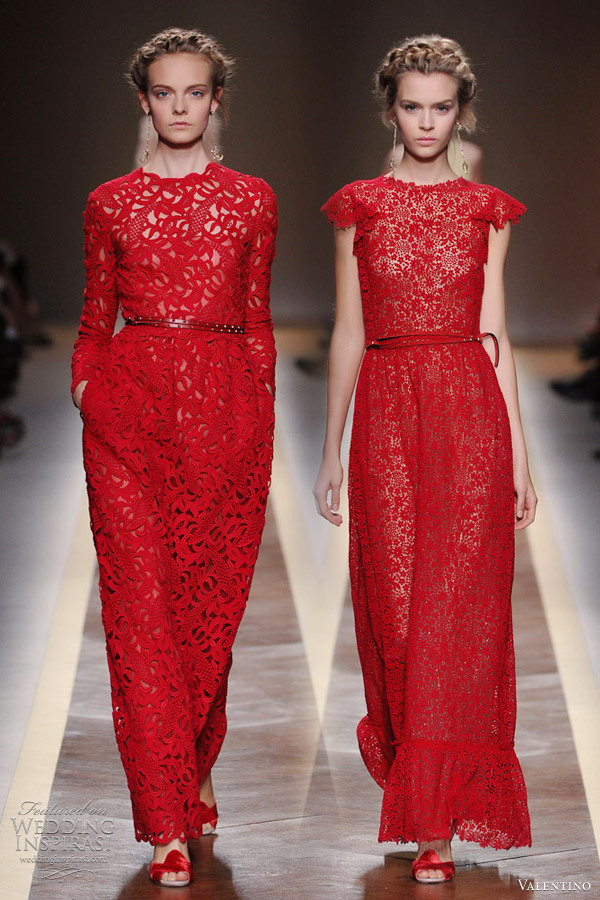 Ugh this is beautiful. The detail on the right dress in particular is fantastic.