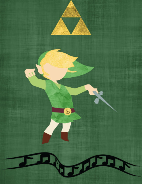 The legend of Zelda : The Wind Waker Art stash