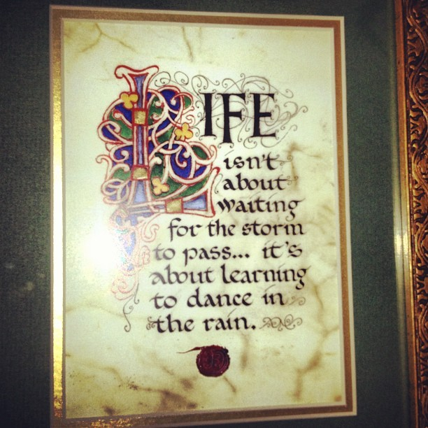 Life… #irish #celtic #quote #life (Taken with instagram)