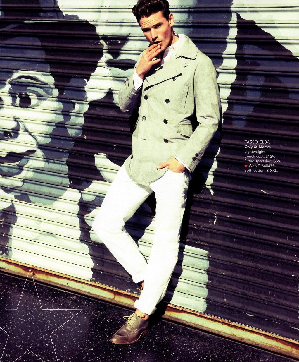 fash-fever:  Guy Robinson - Macy's Spring 2012 catalogue