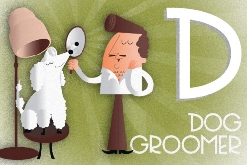 D is for Dog Groomer