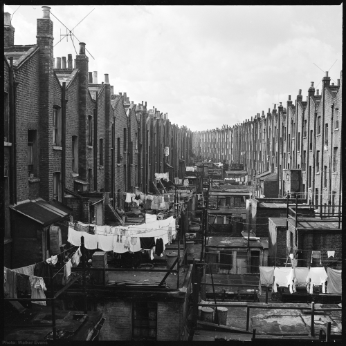 12 Views of Backyards in Paddington DistrictLondon1957 Photograph by Walker Evans