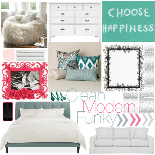 - Clean, Modern, Funky by cheri-baby-xo on polyvore.com