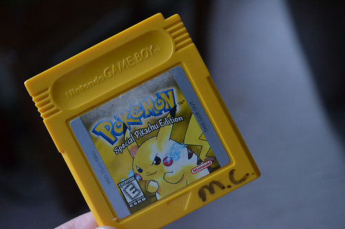 gofuckingnuts:  Todos os tamanhos | Pokemon: Yellow Version | Flickr – Compartilhamento de fotos! on We Heart It. http://weheartit.com/entry/24296672