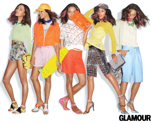 glamour:  We're so into these shorts. Now that everybody's dressing bare-legged morning, noon, and night, which length should you wear? Fashion Editor: Rachael Wang, Photo: Frances Tulk-Hart
