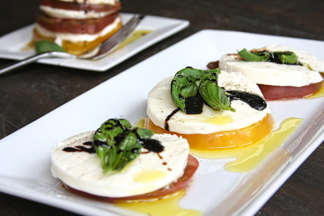 Caprese Salad with Heirloom Tomatoes