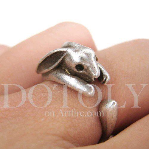 Miniature Bunny Rabbit Ring (x)