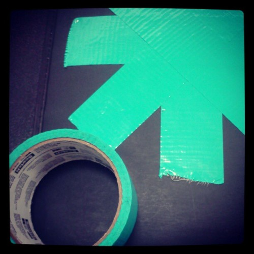 #ducttape #turquoise #tape #ducks #colorful (Taken with instagram)