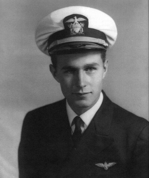 George Bush, U.S. Navy, August 1942 - September 1945 -from the Bush Library