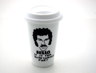 jaymug:  Lionel Richie Hello is it tea you're looking for Travel Mug.