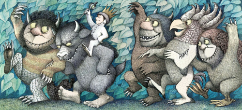 From Where the WIld Things Are by Maurice Sendak, 1963
