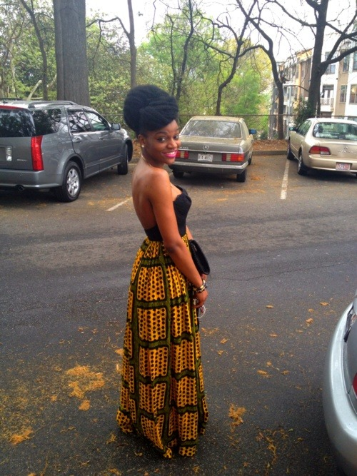 naturalhairteens:  naturalguru:  #SERVING  too cute.