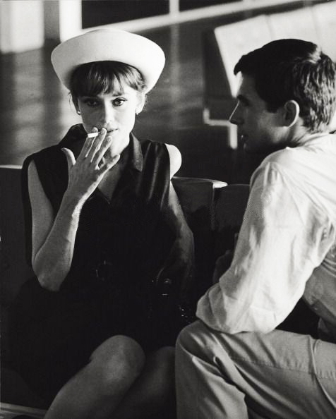 jewahl:  Audrey Hepburn and Anthony Perkins, 1962.