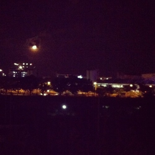 We are looking at the same moon I guess :) (Taken with instagram)