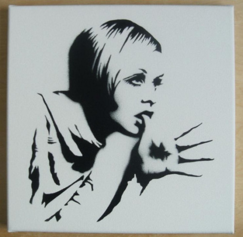 Twiggy stencil - unknown