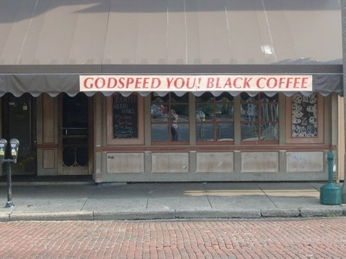 I don't even drink coffee but I would if the coffee shop was called this