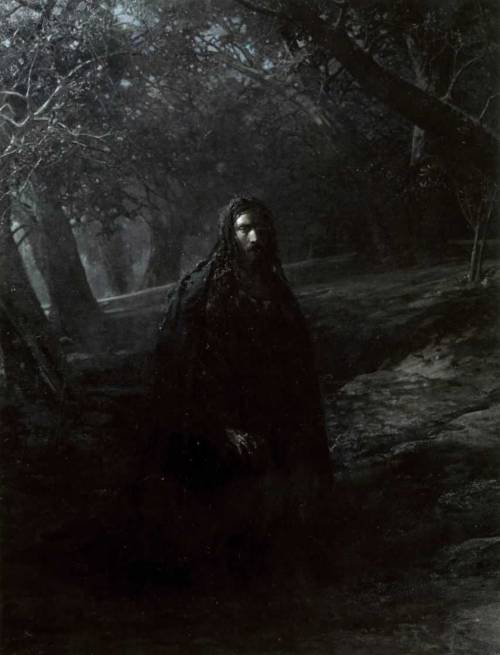 Nikolai Ge, On the Mount of Olives, 1880.