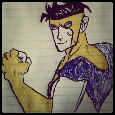My Invincible drawing :D