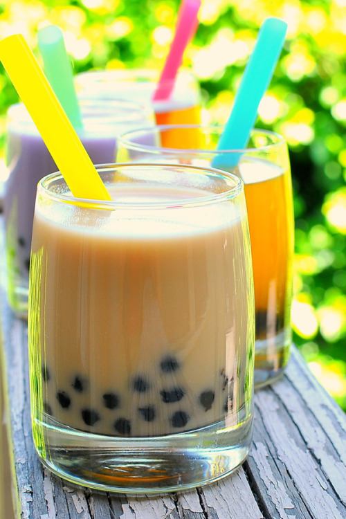 fridgebook:  Bubble Tea  Hmmm…I could really go for this right now.