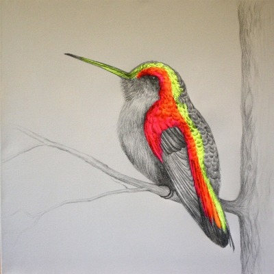 "fuckyeahpsychedelics:  ""A Little Bit Wild (2)"" by Louise McNaught"