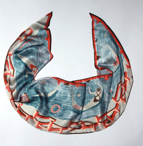 Swimming Pool Scarf by Red Brick