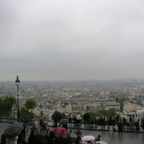 #rainy #montmartre #paris #France (Taken with instagram)
