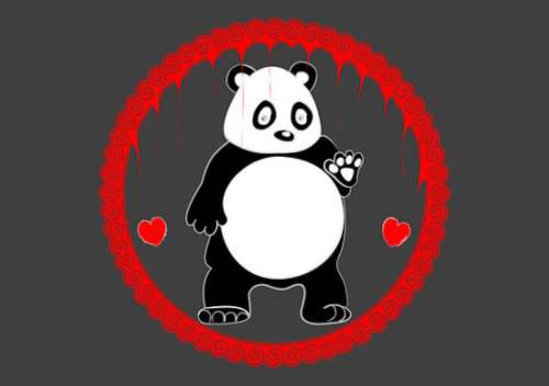 """Fat Panda (not a Fiat Panda)"" by Emma Harckham 