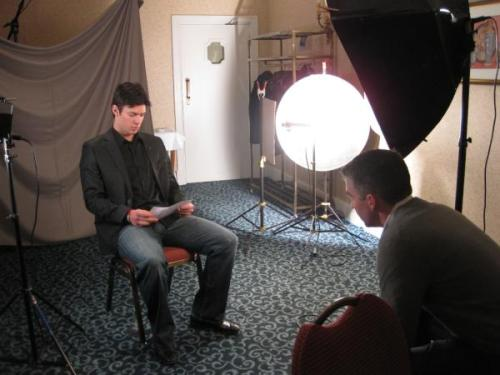 @BurkieYCP aka Patrick Burke brings us behind the scenes from Carey Price's You Can Play video