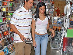 At the local store Long quality porn video. Link: http://porn-mix.com/t/?id=1904