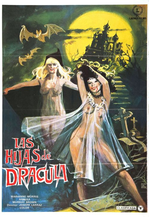morbidlyfabulous:  Spanish poster for Vampyres (1975)