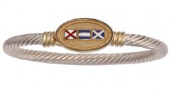 Signal Flag Rope Bracelet by Nautical Luxuries
