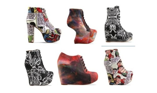 Jeffrey Campbell x Black Milk Collection = pure sex.