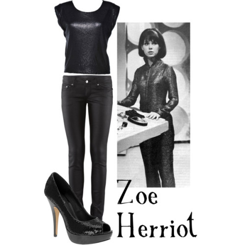 Zoe Herriot  AX Paris sequin top, £9.99H&M slim jeans, £20ALDO high heel pumps, $35