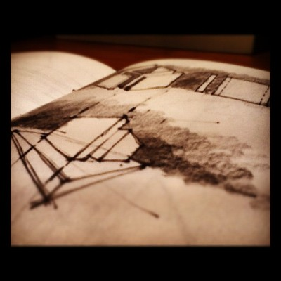 #sketch #design #drawing #art #illustration #architecture (Taken with instagram)