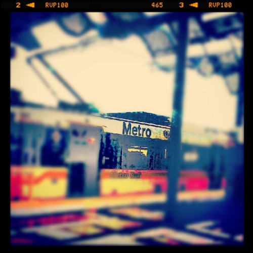 #LA #metro, gotta love it!  (Taken with Instagram at Icon LA)