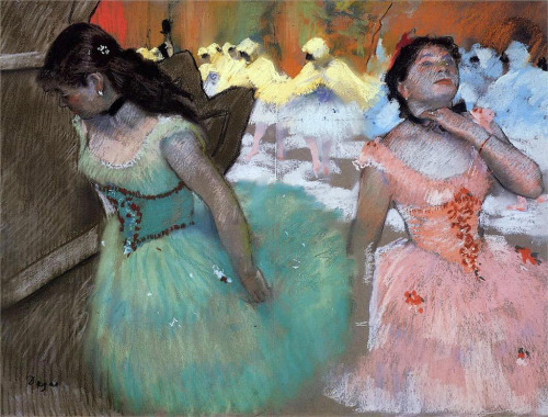 The Entree of the Masked Dancers (1879-82) by Edgar Degas