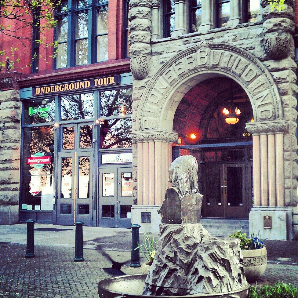 Underground Tours , Pioneer Square , Seattle WA