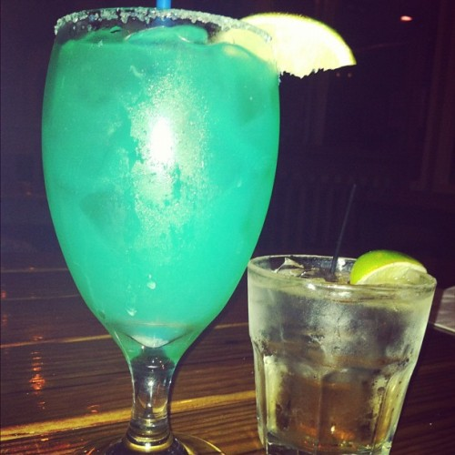 Drinks with my love… (Taken with instagram)