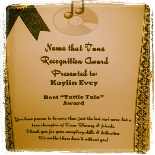 Name that Tune award! #music (Taken with Instagram at Blarney Stone Pub)