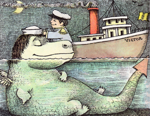 illustratedgents:  Maurice Sendak