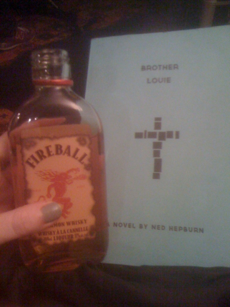 A classy Canadian reader sent in this picture of her night in. Two very smart decisions, there.